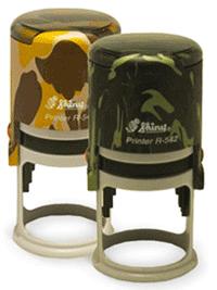Срочное изготовление печати на люксовой оснастке защитного цвета Shiny Military
