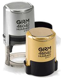 Срочное изготовление печати на дорогой автоматической оснастке HAMMER DELUX 46042 золото/серебро